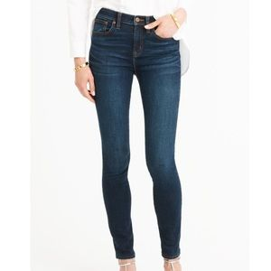 J. Crew Tall Lookout High Rise Skinny Jeans